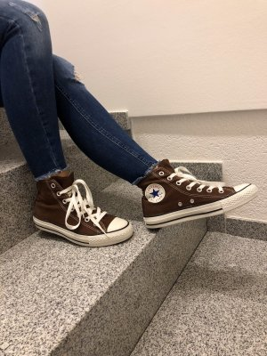 Converse Lace-Up Sneaker brown-white