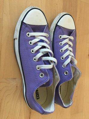 Converse Lace-Up Sneaker purple mixture fibre