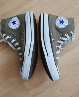 Converse High Top Sneaker green grey