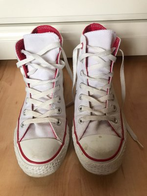 Converse All Star Chucks Weiß Rot