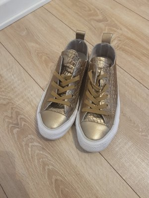 All Star Lace-Up Sneaker gold-colored