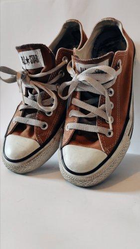 Converse Zapatos de patinador color bronce-blanco