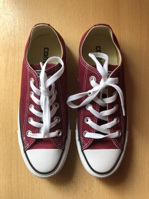 Converse All Star Low in Maroon