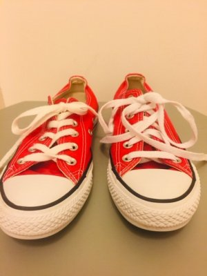 Converse All Star low rot UK 4 EUR 36.5