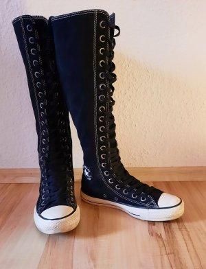 Converse Bottes à lacets noir