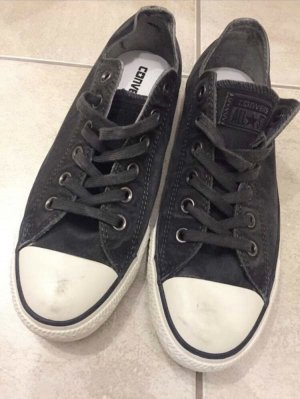 Converse Lace Shoes dark grey