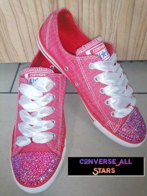 Converse All Stars Sneaker mit Strasssteinen Crystal Premium Qualität Gr. 37