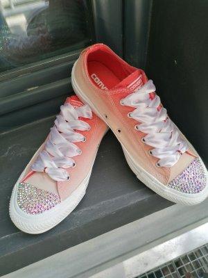 Converse All Stars Sneaker mit Strasssteinen Crystal Premium Qualität Gr 38