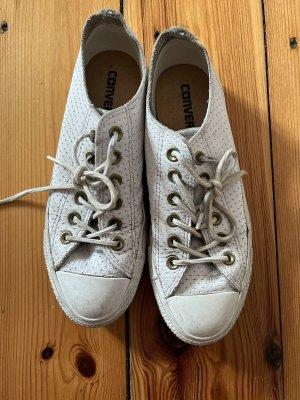 Converse aus Leder