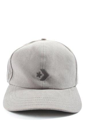 Converse Gorra de béisbol gris claro look casual