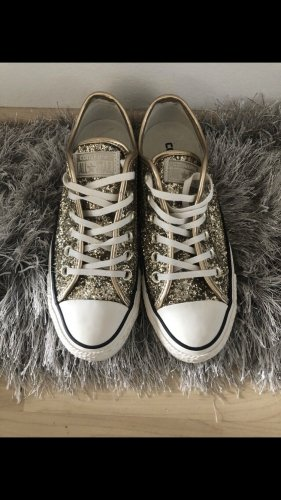 Converse Lace Shoes gold-colored