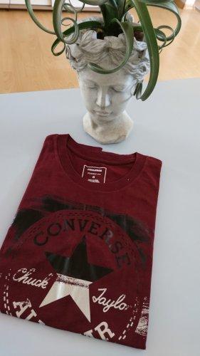 CONVERSE - bordeaux rotes T-Shirt
