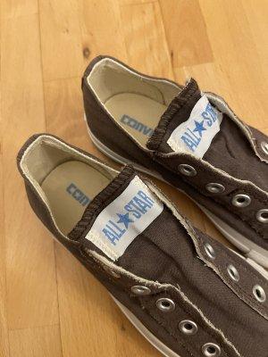 Converse Slip-on Sneakers grey brown
