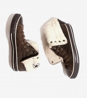 Converse Winter Booties dark brown