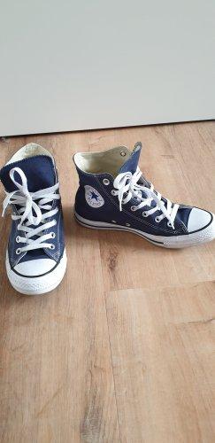 Converse High top sneaker donkerblauw