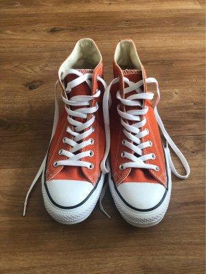 Converse High Top Sneaker white-orange