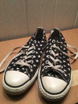 Converse Chuck Taylor, Chucks, Gr. 40, UK 6,5 schwarz mit Sternen, wie NEU