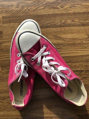 Converse Zapatos de patinador rojo frambuesa