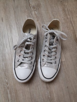 Converse Chucks 37,5 Silber grau low sneaker