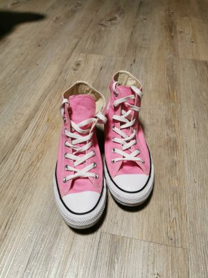 Converse Basket montante rose