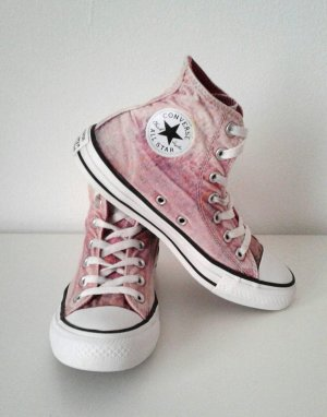 Converse Chucks All Star, pink / rosa / rainbow