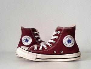 Converse Chucks All Star, weinrot