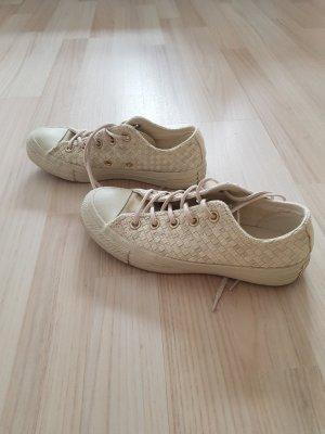 Converse Chucks beige geflochten