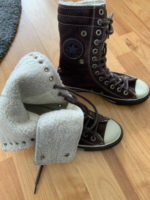 Converse Fur Boots multicolored