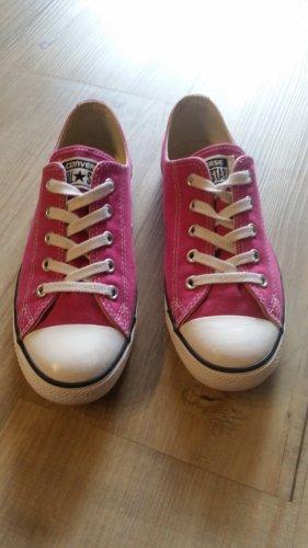 Converse Chucks flach, pink