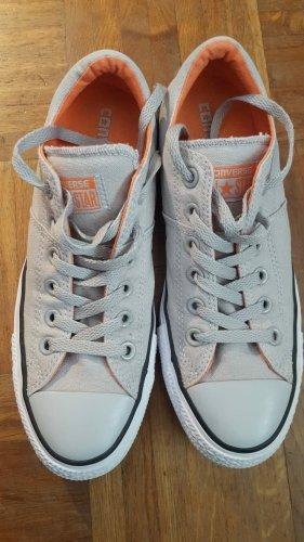 Converse Chucks grau/orange
