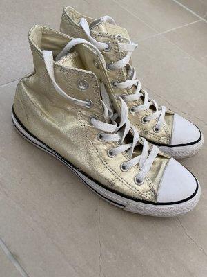 Converse Chucks high Gold 39