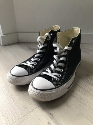 Converse Chucks high, schwarz