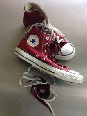 Converse Chaussure skate violet coton