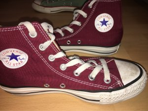 Converse Lace-Up Sneaker brown red-white