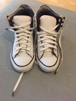Converse chucks in weiß/lila