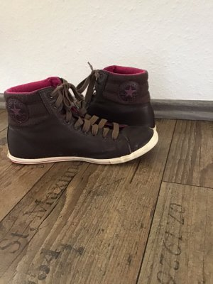 Converse High top sneaker donkerbruin