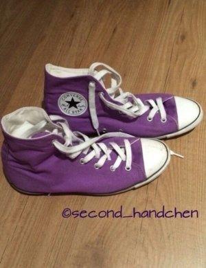 Converse Zapatillas altas lila