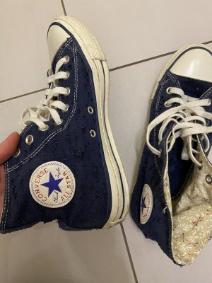 Converse Chucks mit Jeansmuster