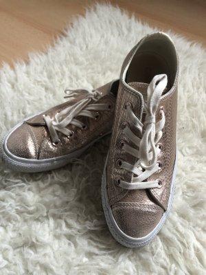 Converse Zapatos de patinador color rosa dorado-blanco
