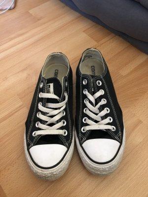 Converse Chucks, schwarz/weiß 38