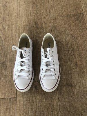 Converse Chucks Sneaker Leder Weiß 38