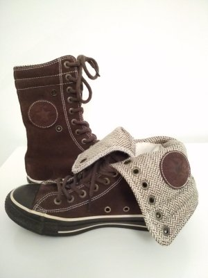 Converse Chucks Xhi Gr. 38 UK 5,5 US 7,5 braun Leder Rauleder Limited Edition