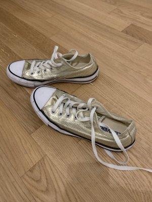 Converse Zapatillas altas color oro