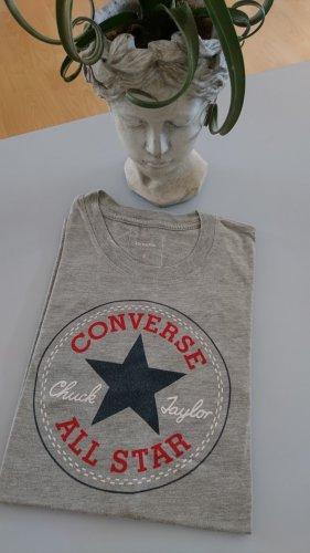 Converse T-shirt jasnoszary-szary