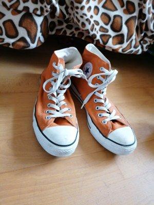 Converse Basket montante orange foncé