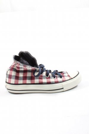 Converse High Top Sneaker check pattern casual look