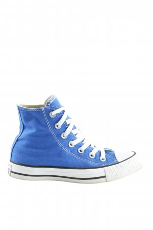Converse High Top Sneaker blau-weiß Casual-Look