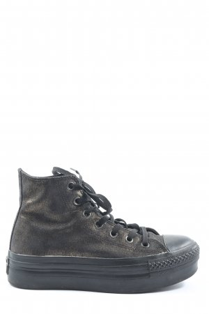 Converse High Top Sneaker bronzefarben Casual-Look