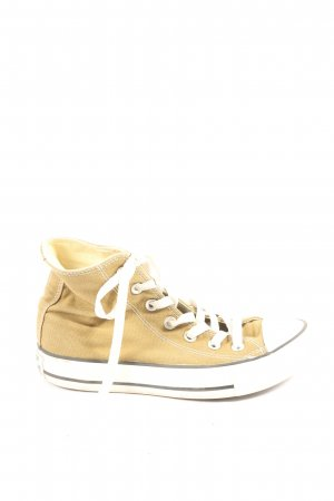 Converse High Top Sneaker blassgelb Casual-Look