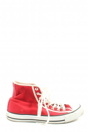 Converse High top sneaker rood casual uitstraling